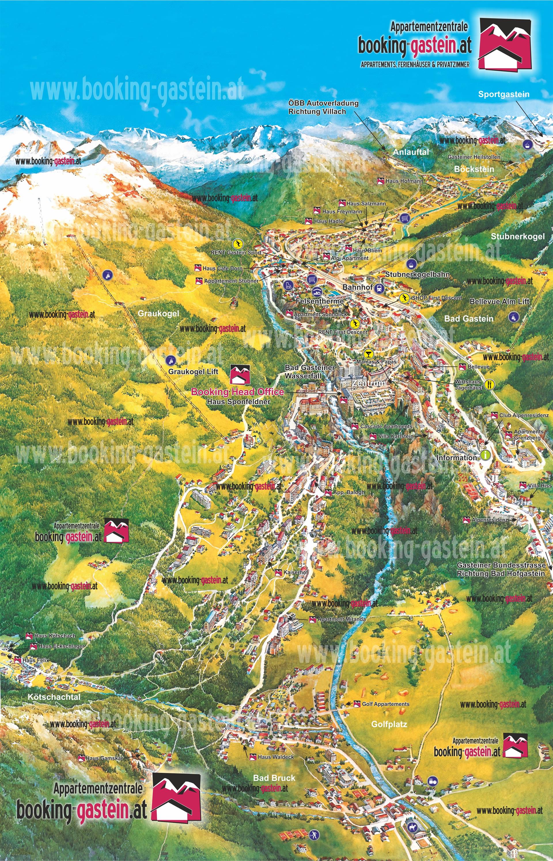 3d Map Bad Gastein